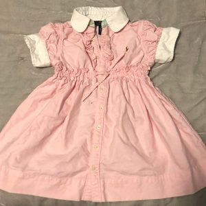 Polo Ralph Lauren little girls dress
